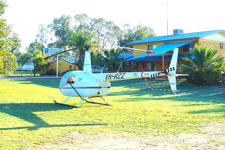 Helicopter Billabong Mundubbera
