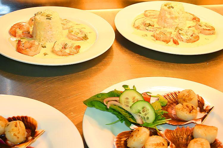 Meals at Billabong