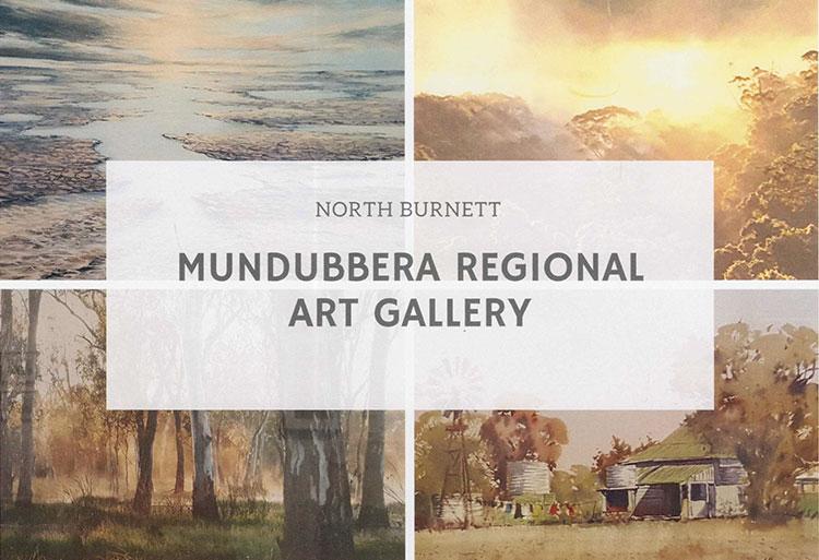 Mundubbera Regional Art Gallery Display